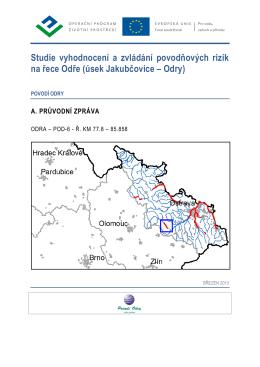 Studie vyhodnocení a zvládání povodňových rizik na řece Odře