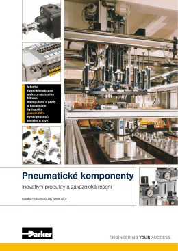Pneumatické komponenty
