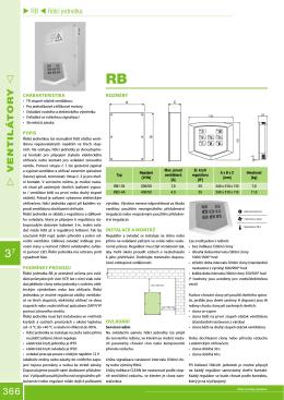 Katalogový list (.pdf) - Vetrani
