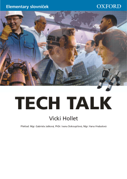 Tech Talk Elementary Wordlist