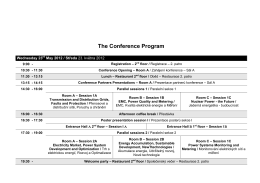 The Conference Program