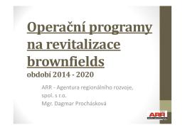 Přednáška ke stažení - ARR - Agentura regionálního rozvoje, spol. s