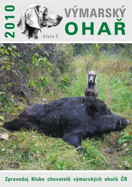 2/2010 - Klub chovatelů výmarských ohařů