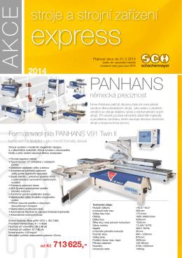 SCH express 2014 dřevoobráběcí stroje