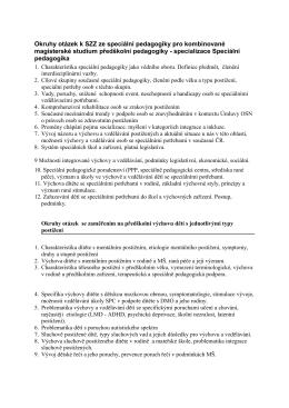 specializace SPPG (M7501T010)