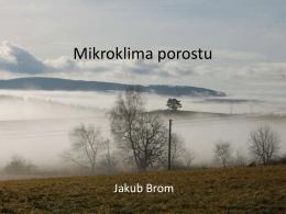 Mikroklima porostu