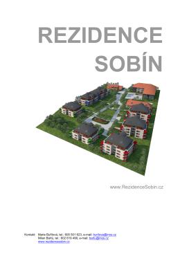 REZIDENCE SOBÍN