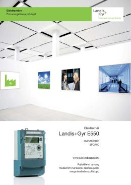 Landis+Gyr E550