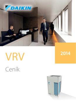 Ceník DAIKIN VRV 2014