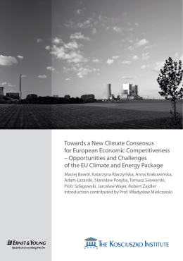 Opportunities and Challenges of the EU Climate an
