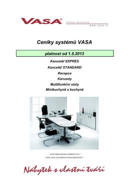 Kancelářský nábytek VASA Praha