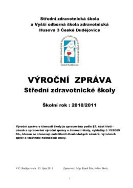 Střední zdravotnická škola - SZŠ a VOŠZ České Budějovice