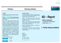 8D – Report