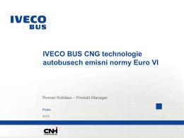"IVECO BUS CNG technologie autobusech emisní normy Euro VI ""pdf"""