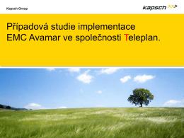 Případová studie implementace EMC Avamar ve společnosti Teleplan.