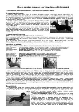 Zpráva 1/201 - jezevcik.xf.cz