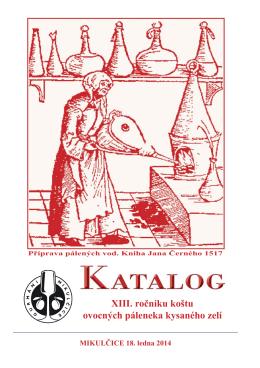 XIII. ročníku koštu ovocných páleneka kysaného zelí