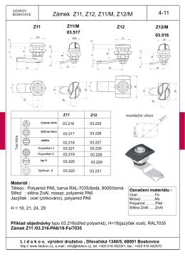 Katalogový list v PDF ke stažení zde