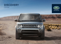 Aktuální ceník najdete zde - Land Rover MEJZNAR Vrchlabí