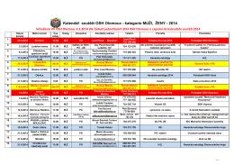 Kalendar OL 2014
