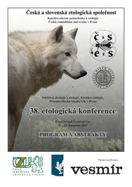 Zborník z 38. konferencie ČSEtS, Kostelec nad Černými Lesy 2011