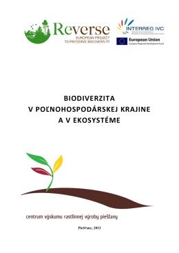 Biodiverzita zbornik 2012