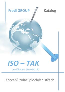 Katalog výrobků ISO-TAK