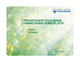 Volksbank CZ