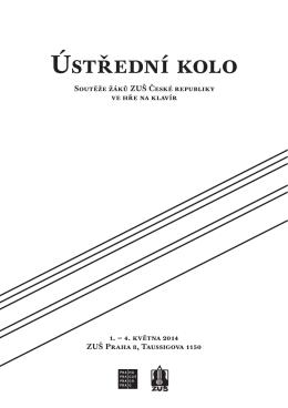 Ústřední kolo - ZUŠ Taussigova