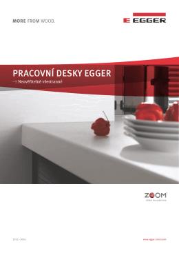 Pracovní Desky EGGER (česky/PDF) Brožury a letáky