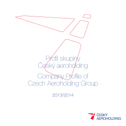 PDF 2013/2014 - Czech Airlines Technics