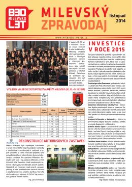 Milevský zpravodaj 11-2014