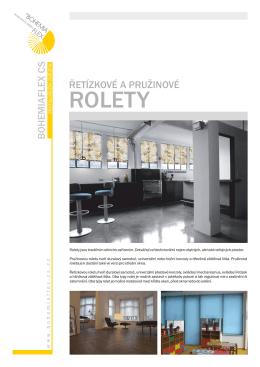 ROLETY - Bohemiaflex CS