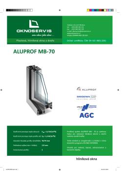ALUPROF MB70 okna 1.indd