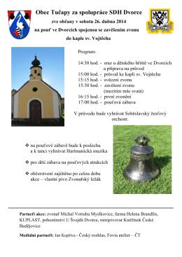 Pozvánka na pouť v PDF