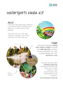 Water Sports - Media Kit 2013