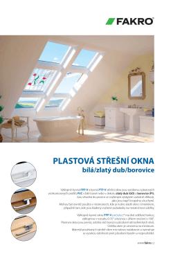 Katalog PVC střešních oken Fakro