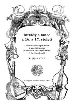 Intrády a tance z 16. a 17. století