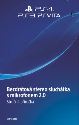 Bezdrátová stereo sluchátka s mikrofonem 2.0