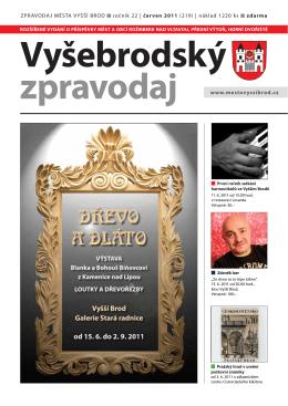Zpravodaj 6/2011 - Město Rožmberk nad Vltavou