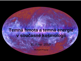 Základy astronomie a astrofyziky – I.