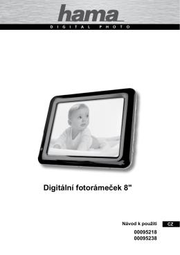 """Digitální fotorámeček 8"""""""