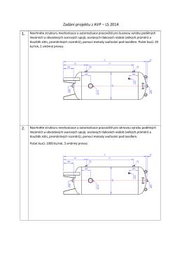 Zadání projektu z AVP – LS 2014