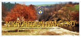 PF 2015 - Mikroregion Ivančicko