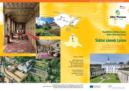 Státní zámek Lysice - Top výletní cíle jižní Moravy