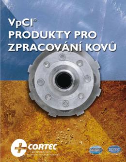 Cortec - katalog prostředků na ochranů kovů
