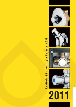 kapitola 14 - ventily a baterie MCM
