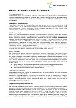Základní rady k výběru, stavbě a údržbě skleníku - Skleník