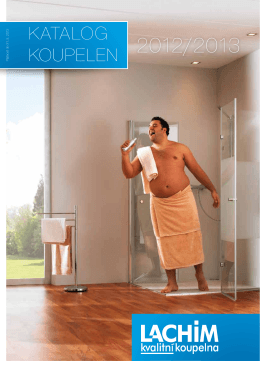 katalog LACHIM.pdf - kvalitní koupelny