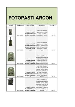 FOTOPASTI ARCON